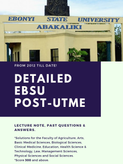 download ebus post utme past questions